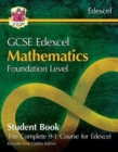 New Grade 9-1 GCSE Maths Edexcel Student Book - Foundation (with Online Edition) - Book