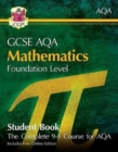 New Grade 9-1 GCSE Maths AQA Student Book - Foundation (with Online Edition) - Book