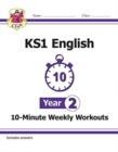 New KS1 English 10-Minute Weekly Workouts - Year 2 - Book