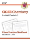 New Grade 9-1 GCSE Chemistry: AQA Exam Practice Workbook - Foundation - Book