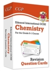 New Grade 9-1 Edexcel International GCSE Chemistry: Revision Question Cards - Book