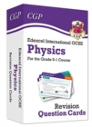 New Grade 9-1 Edexcel International GCSE Physics: Revision Question Cards - Book