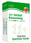 New 11+ CEM Verbal Reasoning Practice Question Cards - Ages 10-11 - Book