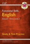New Functional Skills English: Edexcel Entry Level 3 - Study & Test Practice (for 2019 & beyond) - Book