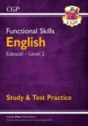 New Functional Skills Edexcel English Level 2 - Study & Test Practice (with Online Edition) - Book