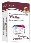 New Grade 9-1 Edexcel International GCSE Maths: Revision Question Cards - Book