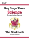 New KS3 Science Workbook - Foundation (with answers) - Book