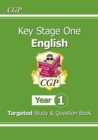 New KS1 English Targeted Study & Question Book - Year 1 - Book