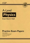 New A-Level Physics AQA Practice Papers - Book