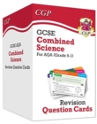 New 9-1 GCSE Combined Science AQA Revision Question Cards: All-in-one Biology, Chemistry & Physics - Book
