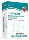 New 11+ GL Revision Question Cards: English Spelling, Punctuation & Grammar - Ages 10-11 - Book