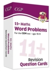 New 11+ CEM Revision Question Cards: Maths Word Problems - Ages 10-11 - Book