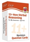 New 11+ GL Revision Question Cards: Non-Verbal Reasoning - Ages 9-10 - Book