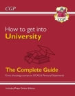 How to get into University: From choosing courses to UCAS and Personal Statements - Book