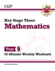 New KS3 Maths 10-Minute Weekly Workouts - Year 9 - Book