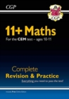 New 11+ CEM Maths Complete Revision and Practice - Ages 10-11 (with Online Edition) - Book