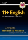 New 11+ GL English Complete Revision and Practice - Ages 10-11 (with Online Edition) - Book