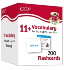 New 11+ Vocabulary Flashcards - Ages 10-11 - Book