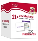 New 11+ Vocabulary Flashcards - Ages 9-10 - Book