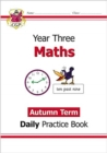 New KS2 Maths Daily Practice Book: Year 3 - Autumn Term - Book