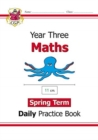 New KS2 Maths Daily Practice Book: Year 3 - Spring Term - Book