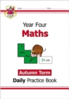 New KS2 Maths Daily Practice Book: Year 4 - Autumn Term - Book