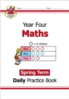New KS2 Maths Daily Practice Book: Year 4 - Spring Term - Book