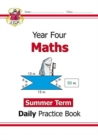 New KS2 Maths Daily Practice Book: Year 4 - Summer Term - Book