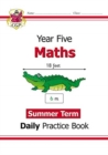 New KS2 Maths Daily Practice Book: Year 5 - Summer Term - Book