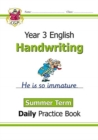 New KS2 Handwriting Daily Practice Book: Year 3 - Summer Term - Book