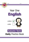 New KS1 English Daily Practice Book: Year 1 - Autumn Term - Book