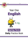 New KS1 English Daily Practice Book: Year 1 - Spring Term - Book