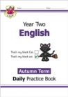 New KS1 English Daily Practice Book: Year 2 - Autumn Term - Book