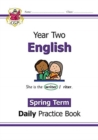 New KS1 English Daily Practice Book: Year 2 - Spring Term - Book