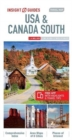 Insight Guides Travel Map USA & Canada South (Insight Maps) - Book