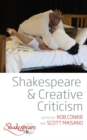 Shakespeare and Creative Criticism - eBook
