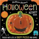 Halloween Balloon Sticker Activity Book - Book
