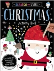 Scratch and Sparkle Christmas Activity Book - Book