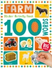 100 Farm Words Sticker Activity - Book