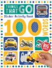 100 Things That Go Words Sticker Activity - Book
