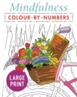 Mindfulness Colour-by-Numbers Large Print - Book