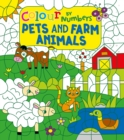 Colour by Numbers: Pets and Farm Animals - Book