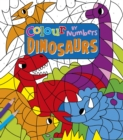 Colour by Numbers: Dinosaurs - Book