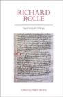 Richard Rolle : Unprinted Latin Writings - Book