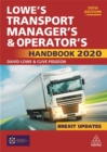 Lowe's Transport Manager's and Operator's Handbook 2020 - Book