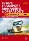 Lowe's Transport Manager's and Operator's Handbook 2020 - eBook