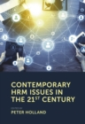 Contemporary HRM Issues in the 21st Century - Book