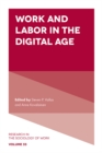 Work and Labor in the Digital Age - Book