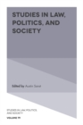 Studies in Law, Politics, and Society - Book