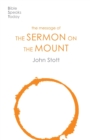 The Message of the Sermon on the Mount - Book